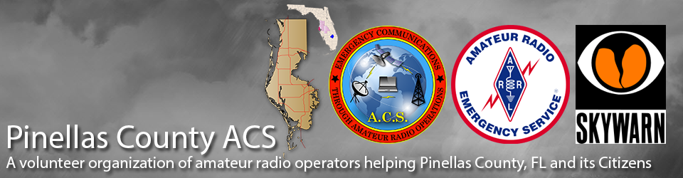 Frequencies – Primary & Contingency | Pinellas County ACS/ARES